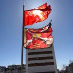 В Казане ветераны под флагами Победы и ГВАРТ провели мероприятие.