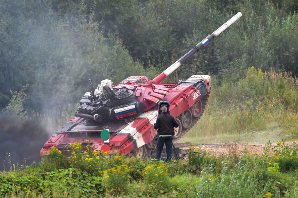 Танковый биатлон 2021 , экипаж - Россия