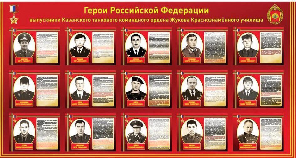 Герои танкисты Казанское танковое